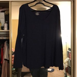 Navy blue long sleeve